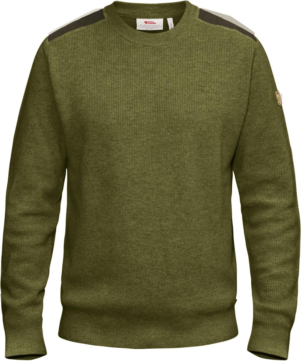 FjallRaven Sormland Crew Sweater Dark Olive-30