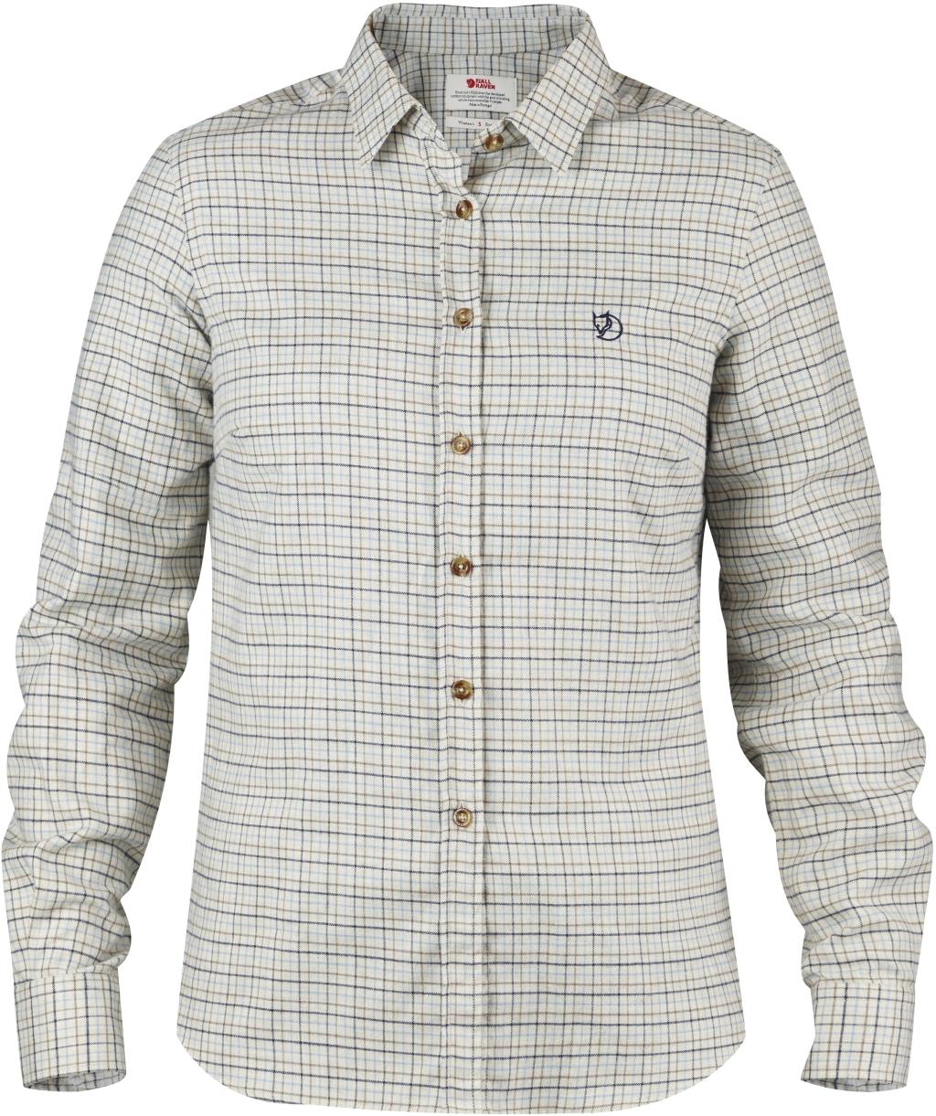 FjallRaven Sormland Flannel Shirt LS W Eggshell-30