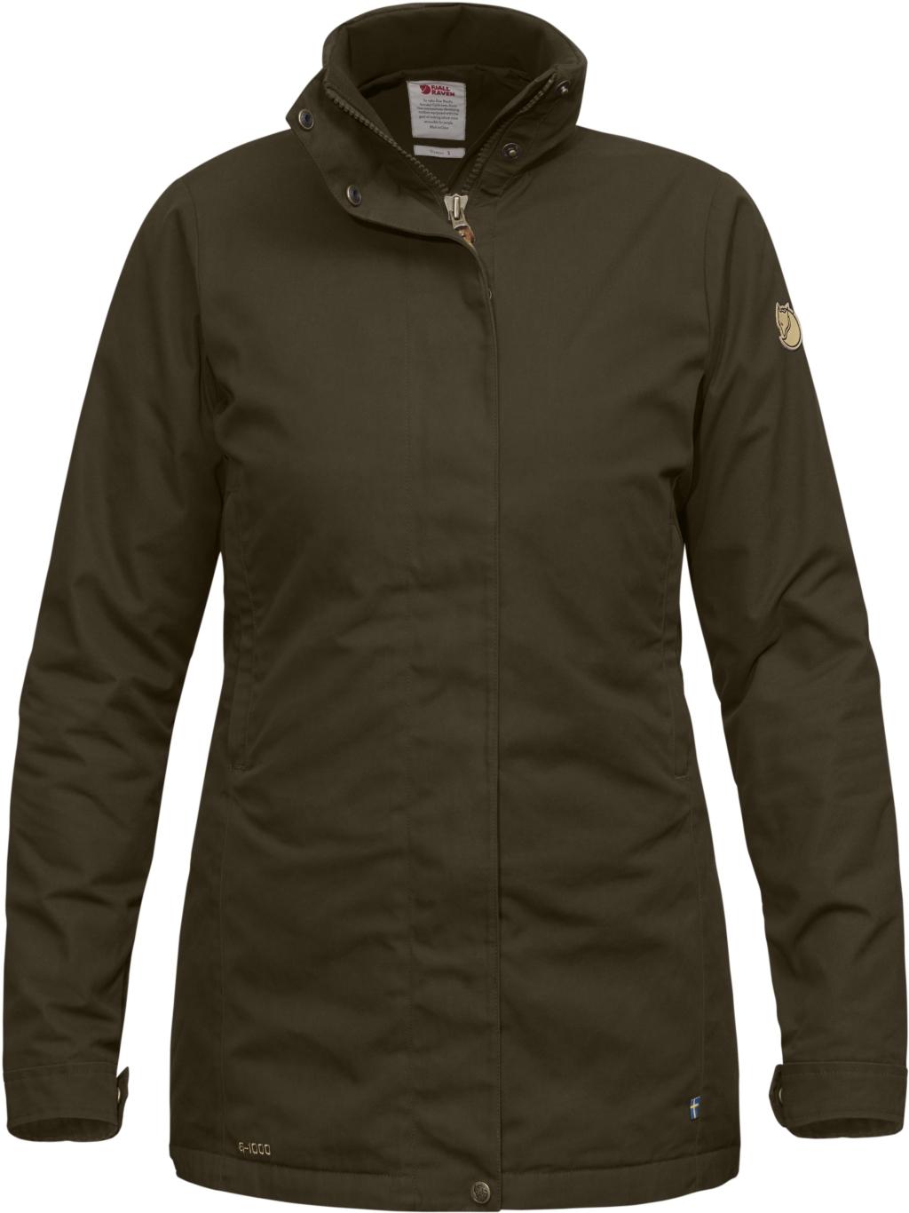 FjallRaven Sormland Padded Jacket W Dark Olive-30
