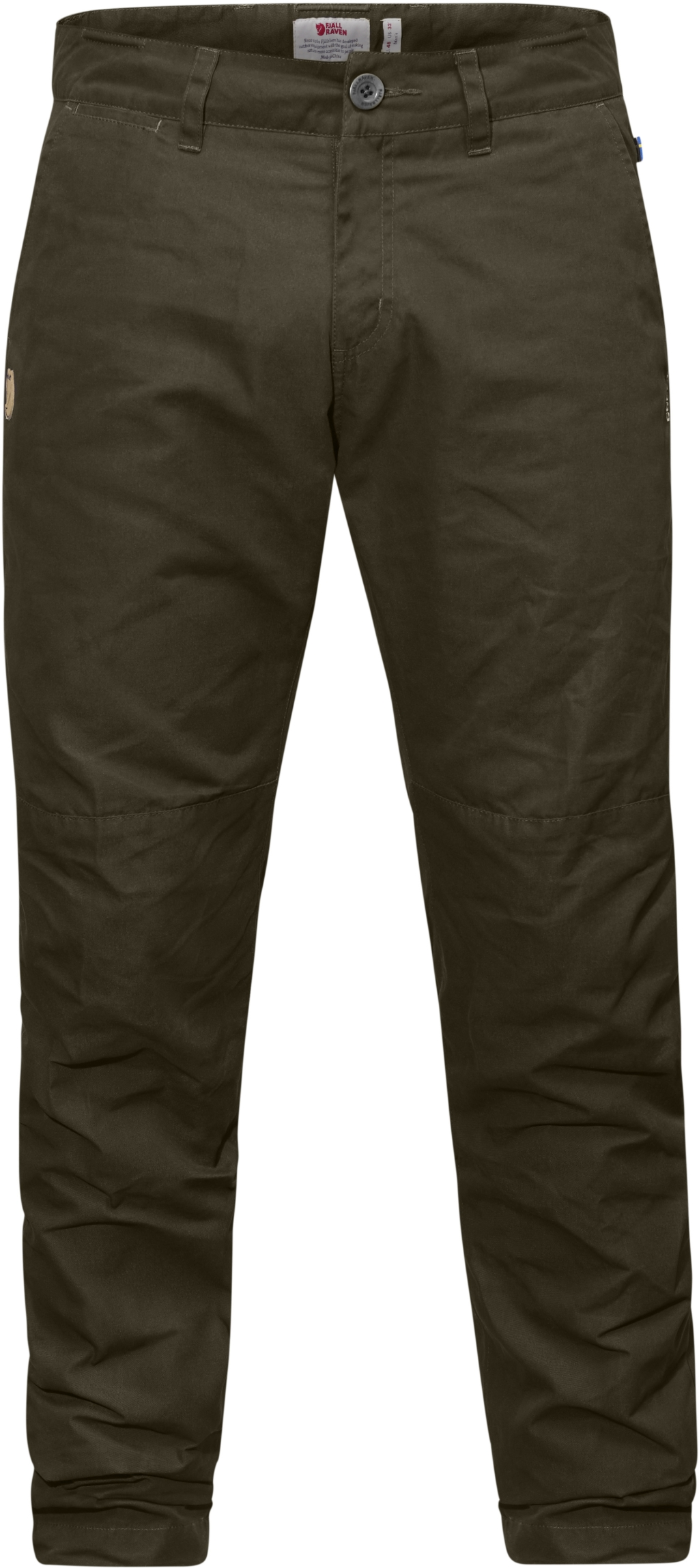 FjallRaven Sormland Tapered Winter Trousers Dark Olive-30