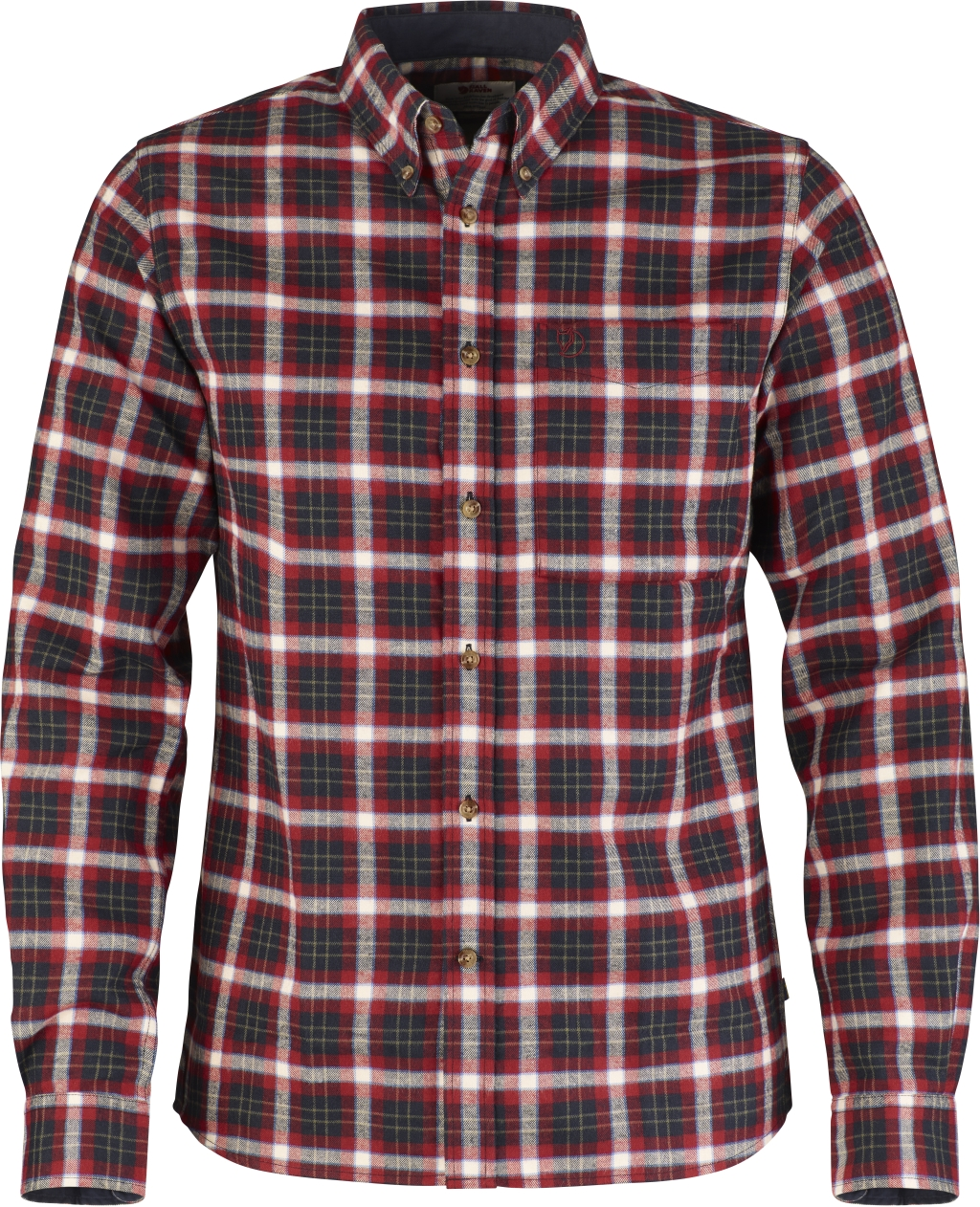 FjallRaven Stig Flannel Shirt Ox Red-30