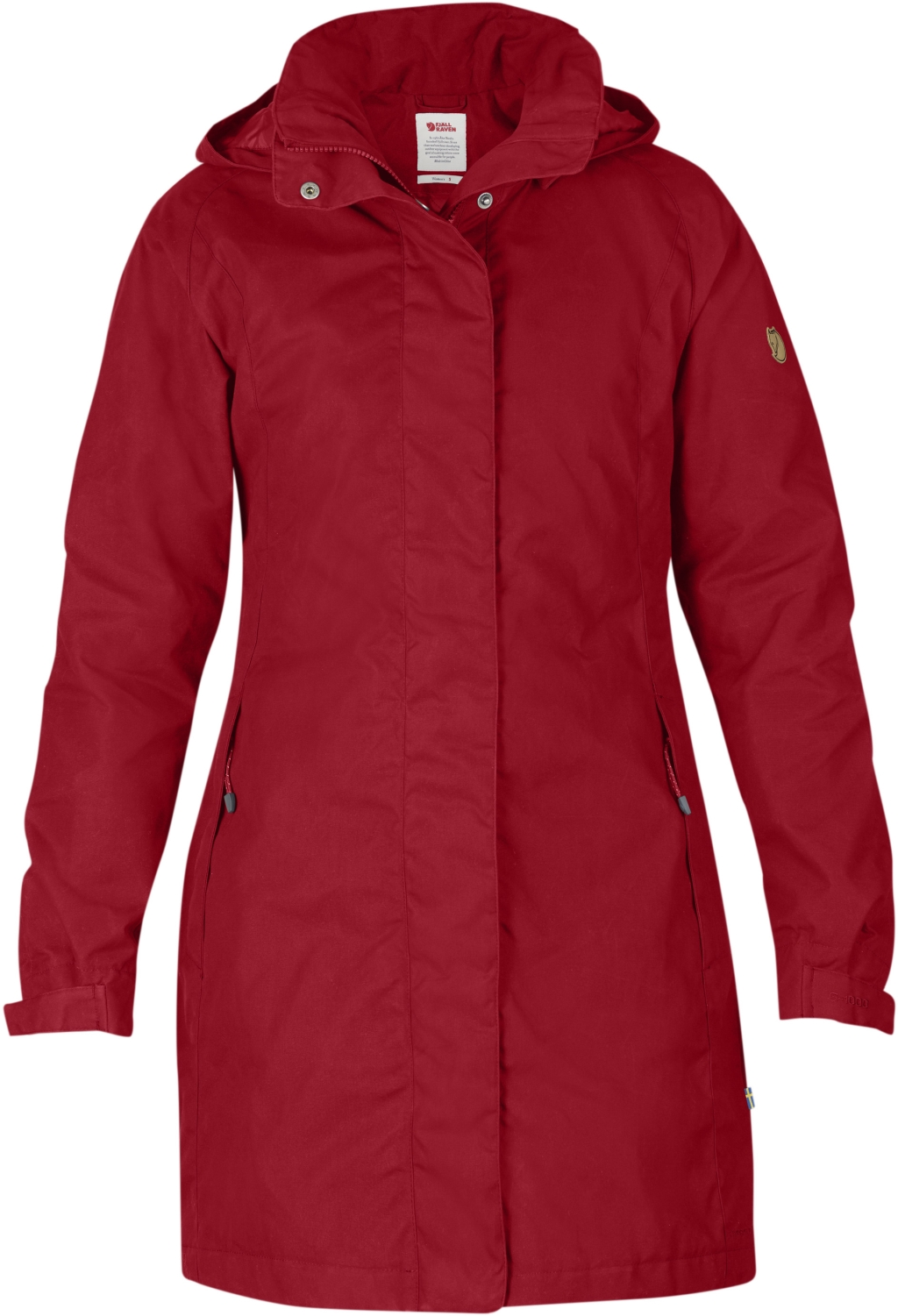 FjallRaven Una Jacket Deep Red-30