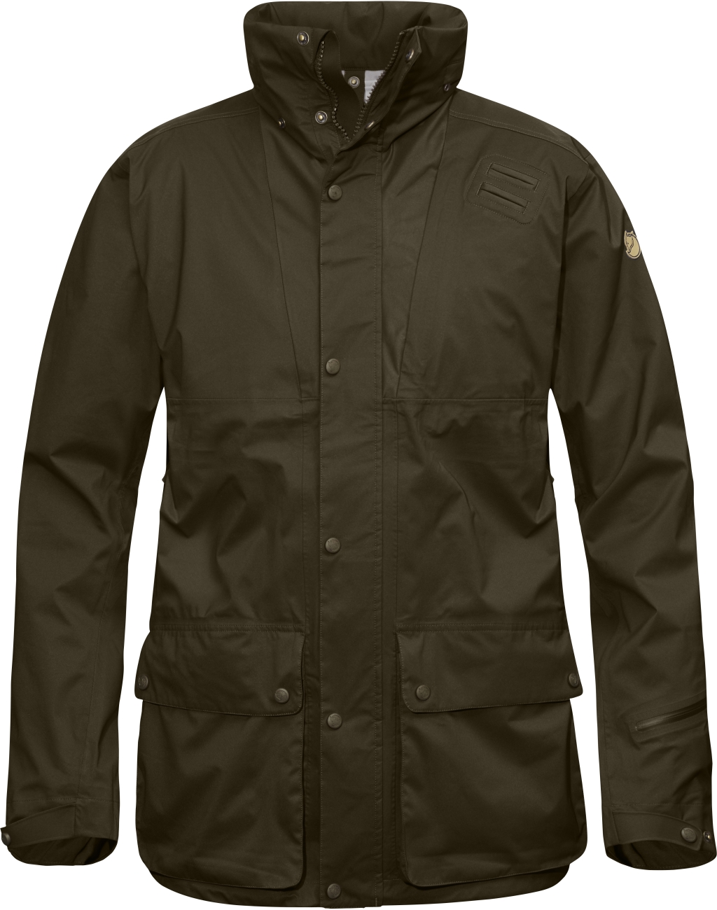 FjallRaven Varmland Eco-Shell Jacket Dark Olive-30