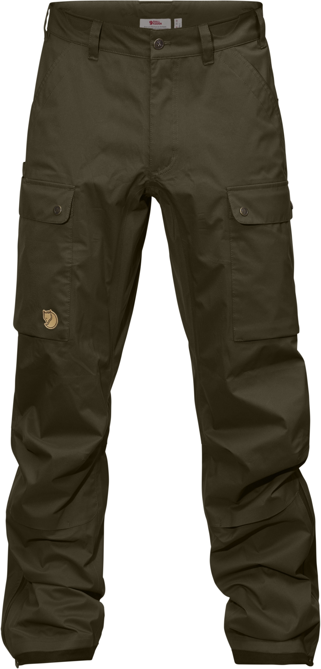 FjallRaven Varmland Eco-Shell Trousers Dark Olive-30