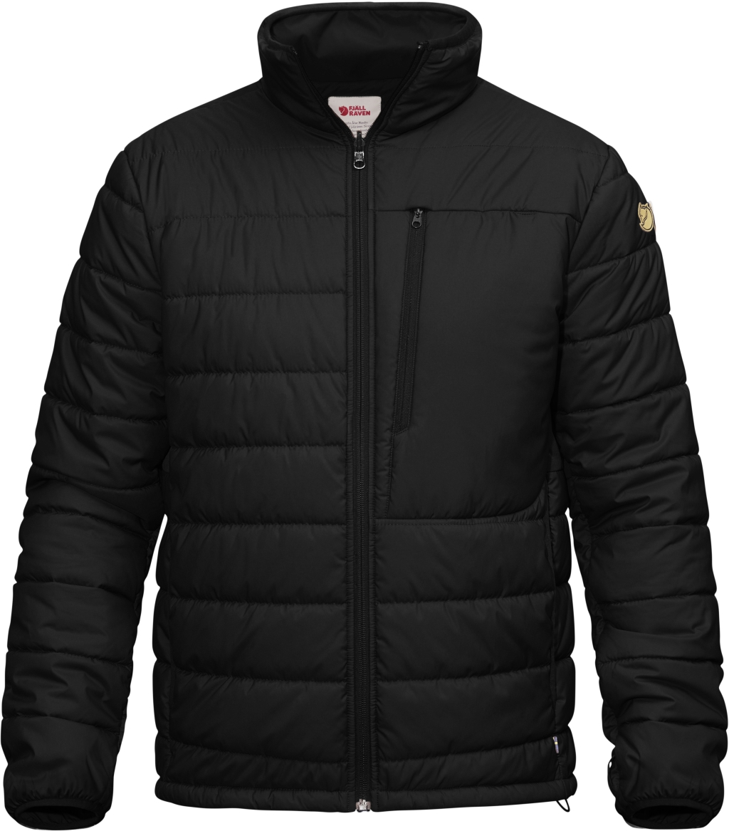 FjallRaven Varmland Padded Jacket Black-30