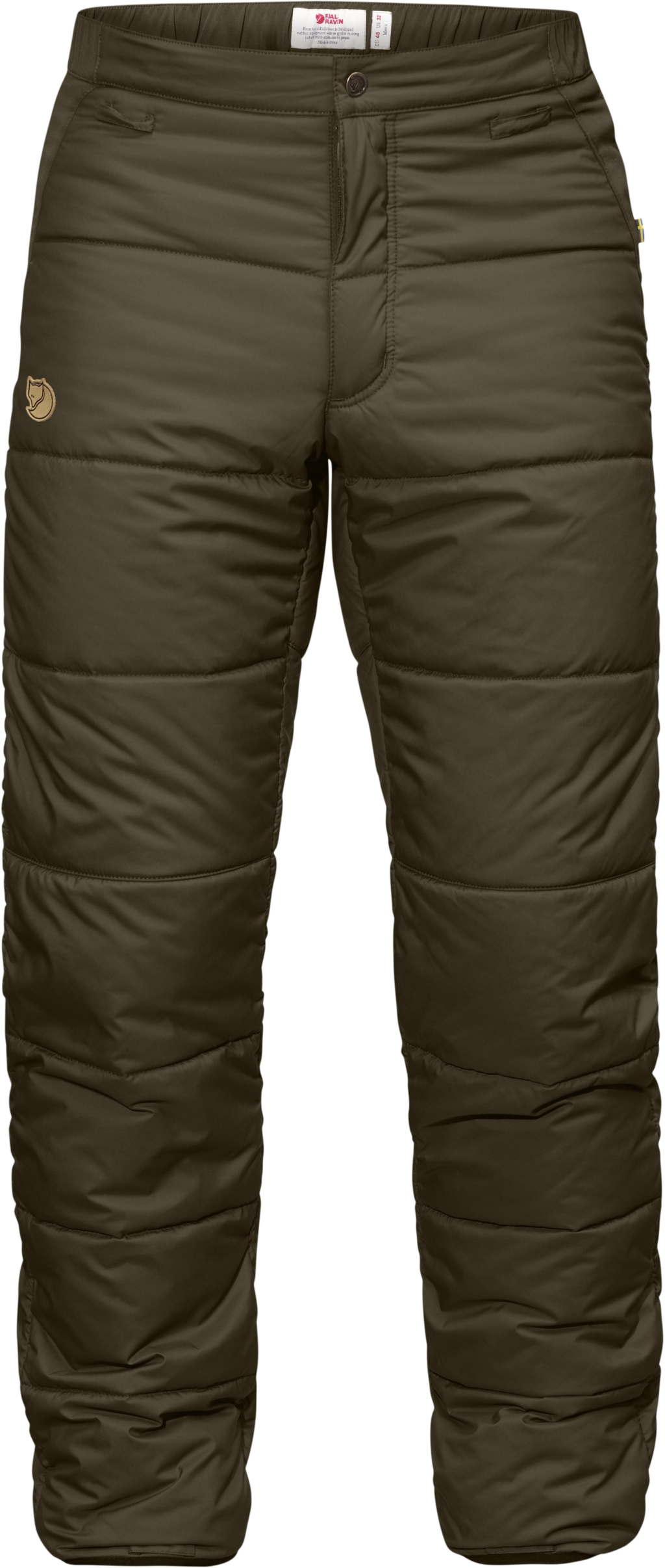 FjallRaven Varmland Padded Trousers Dark Olive-30