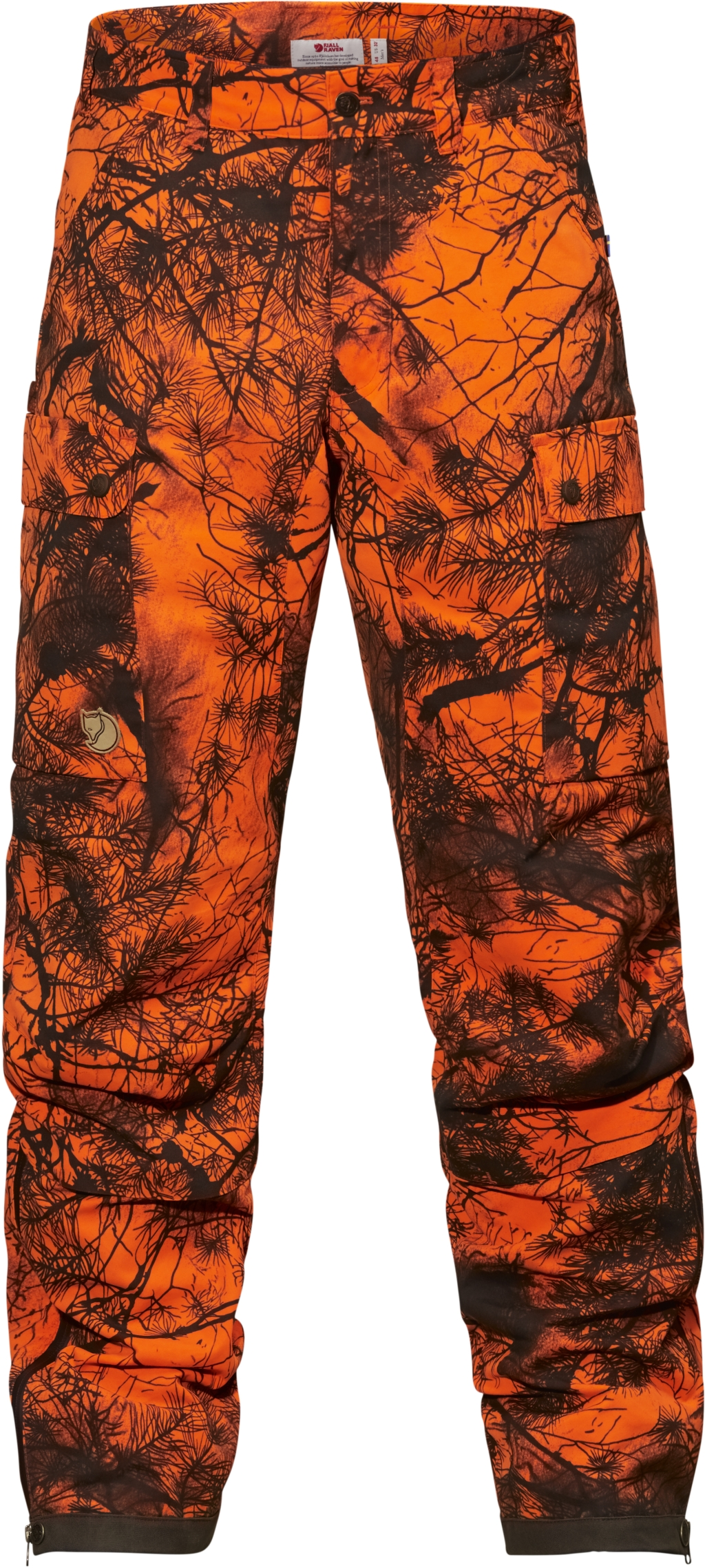 FjallRaven Varmland Trousers Camo Orange Camo-30
