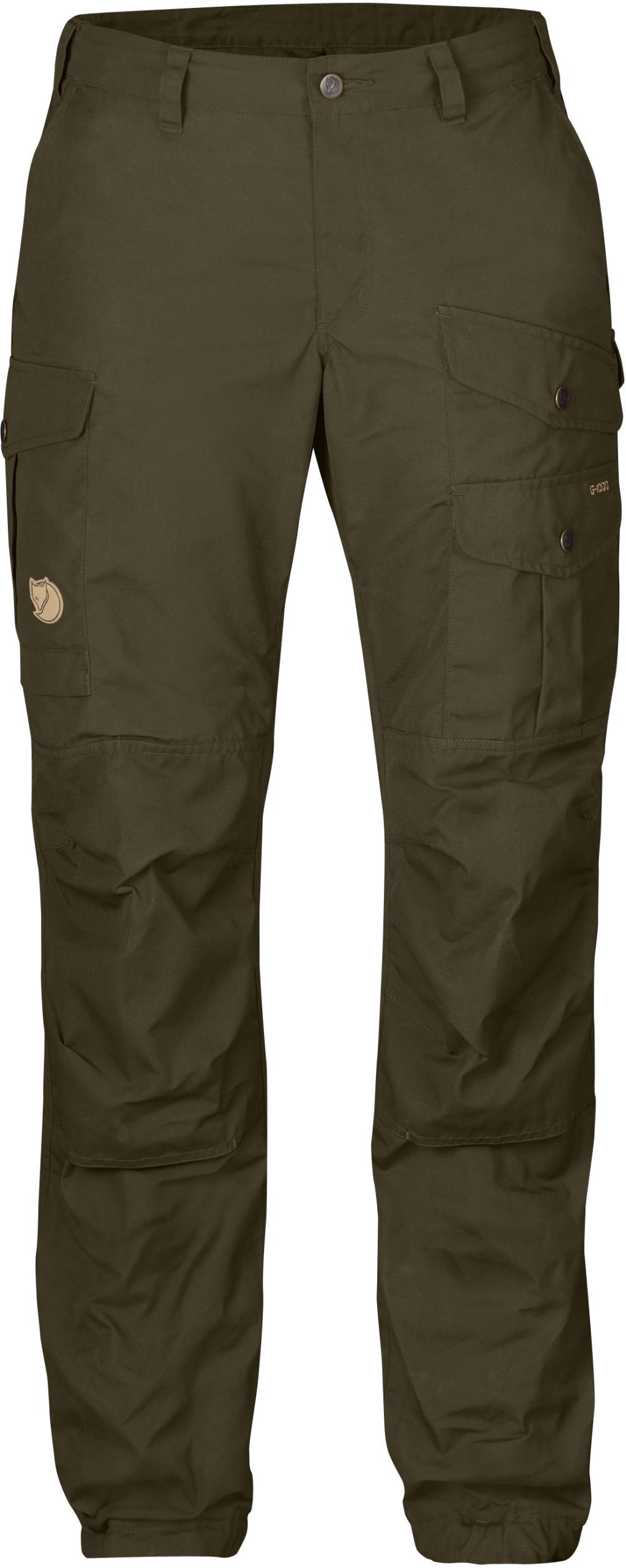 FjallRaven Vidda Pro Trousers Curved W Dk.Olive-Dk.Olive-30