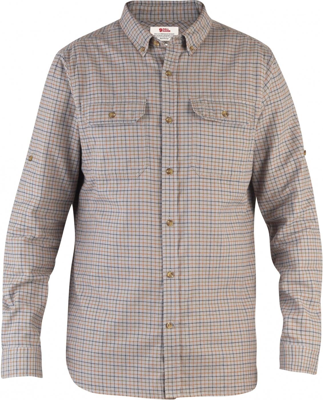 FjallRaven Forest Flannel Shirt Grey-30