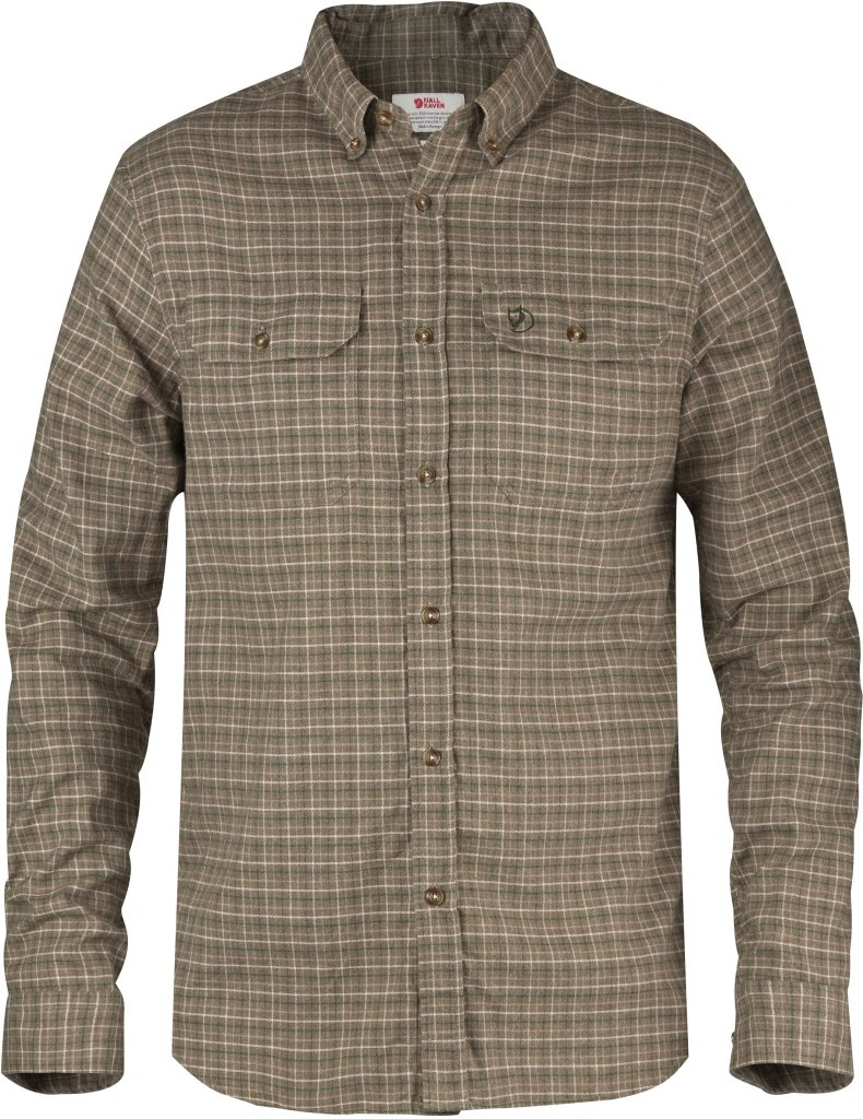 FjallRaven Forest Flannel Shirt Tarmac-30