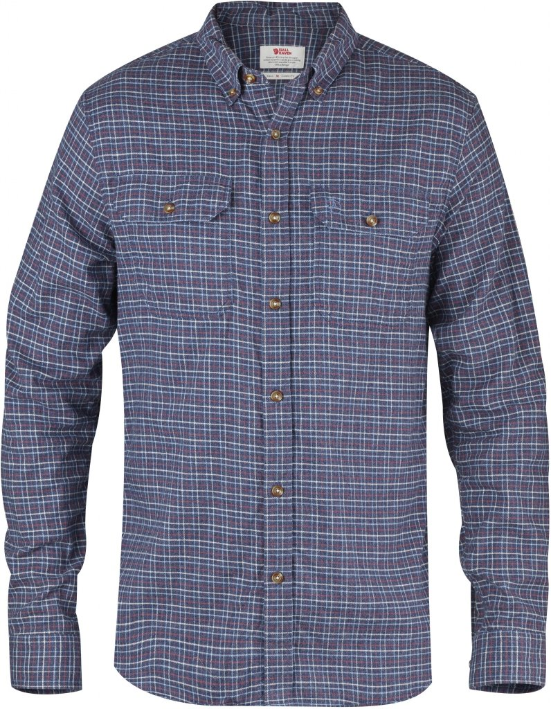 FjallRaven Forest Flannel Shirt Navy-30