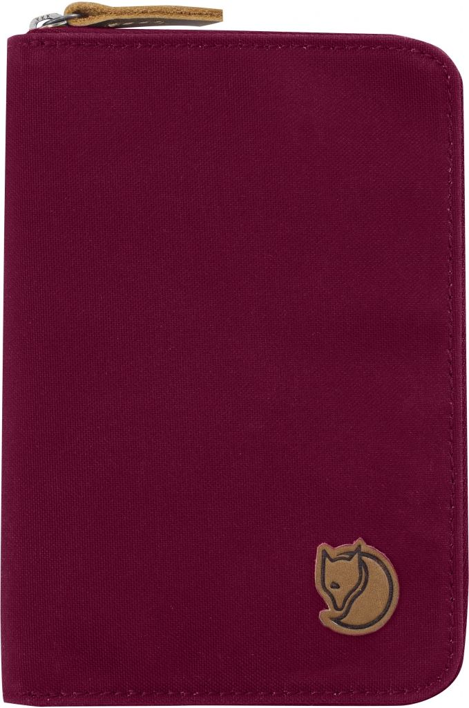 FjallRaven Passport Wallet Plum-30