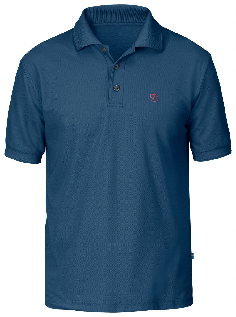 FjallRaven Crowley Pique Shirt Uncle Blue-30
