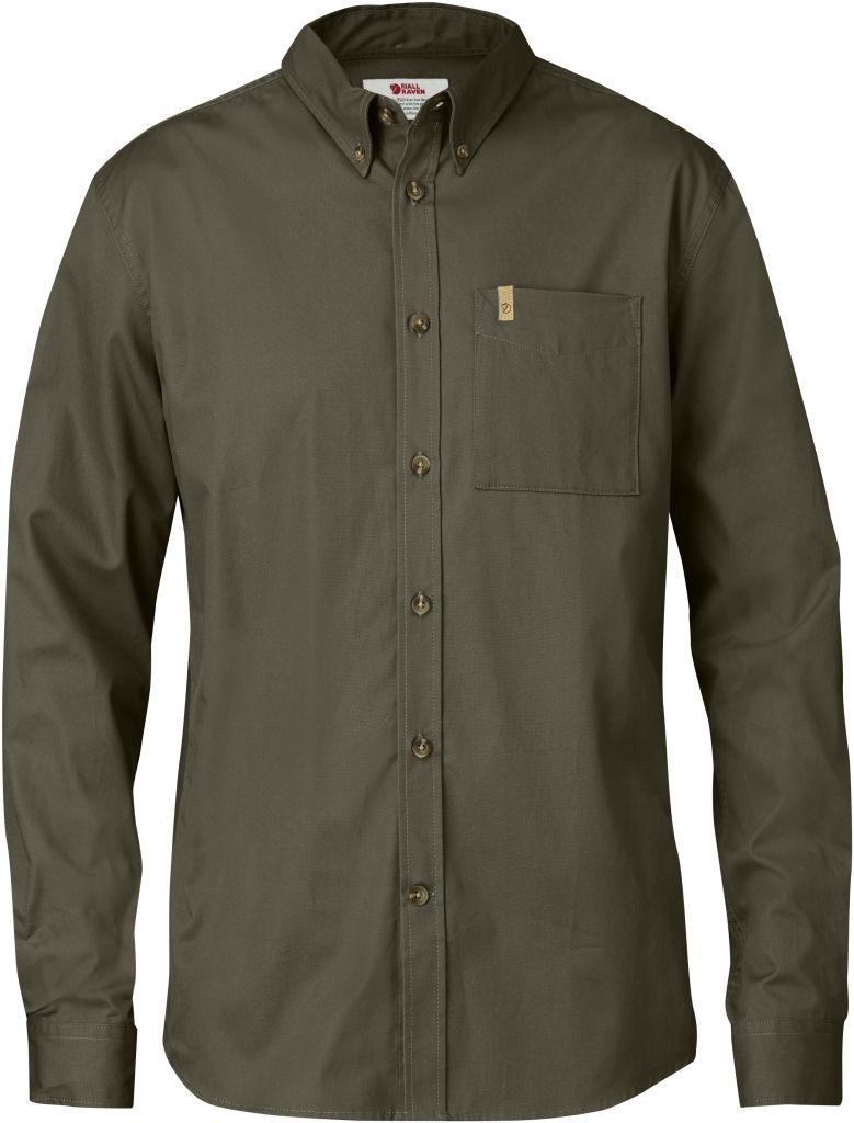 FjallRaven Övik Solid Twill Shirt LS Tarmac-30