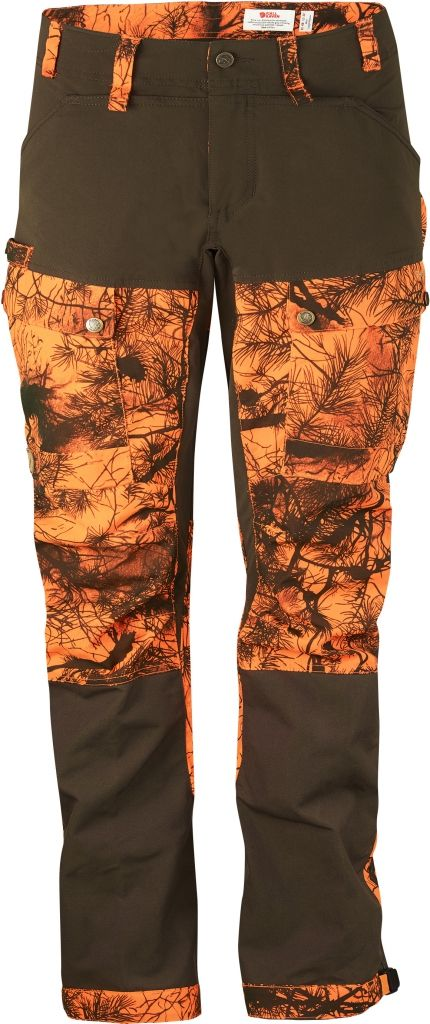 FjallRaven Lappland Hybrid Trousers Camo W Orange Camo-30