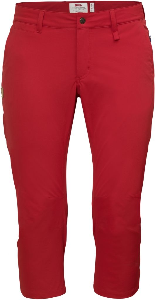 FjallRaven Abisko Capri Trousers W Red-30