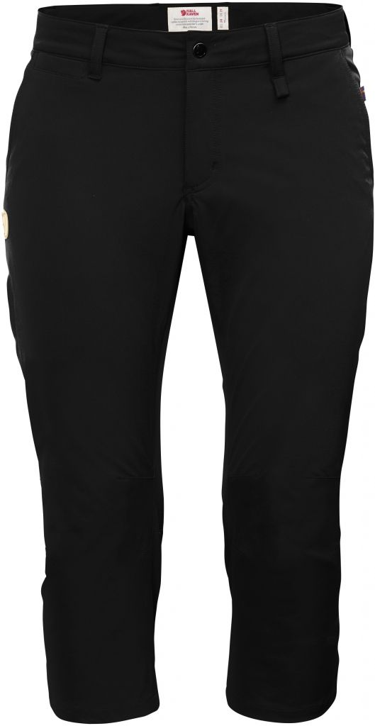 FjallRaven Abisko Capri Trousers W Black-30