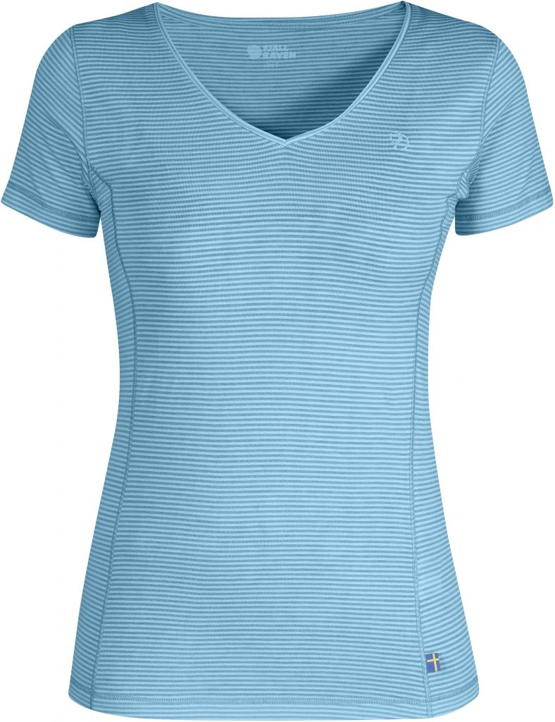 FjallRaven Abisko Cool T-Shirt W. Bluebird-30