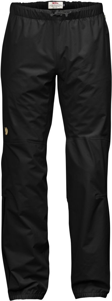 FjallRaven Abisko Eco-Shell Trousers Black-30