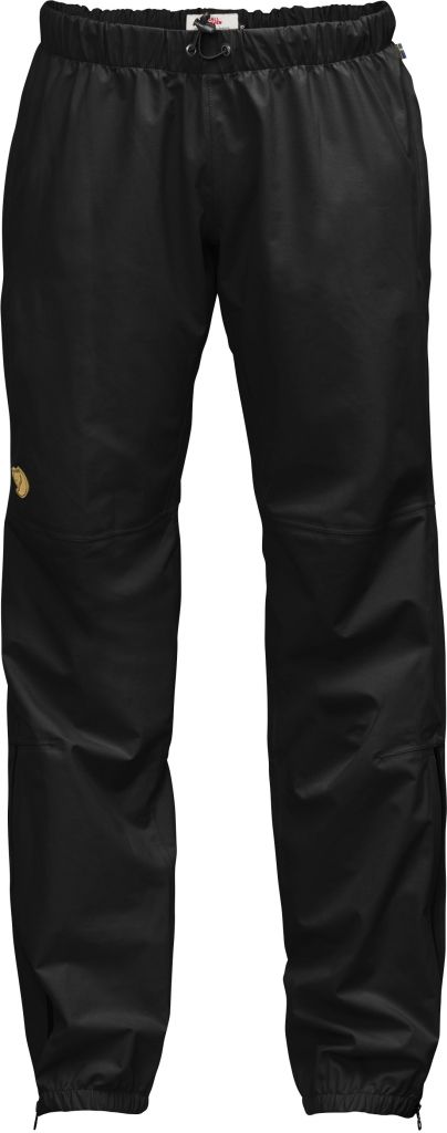 FjallRaven Abisko Eco-Shell Trousers W Black-30