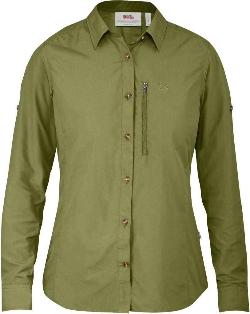 FjallRaven Abisko Hike Shirt LS W Meadow Green-30