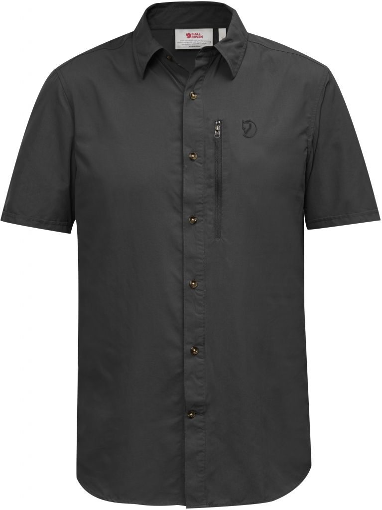 FjallRaven Abisko Hike Shirt SS W Dark Grey-30