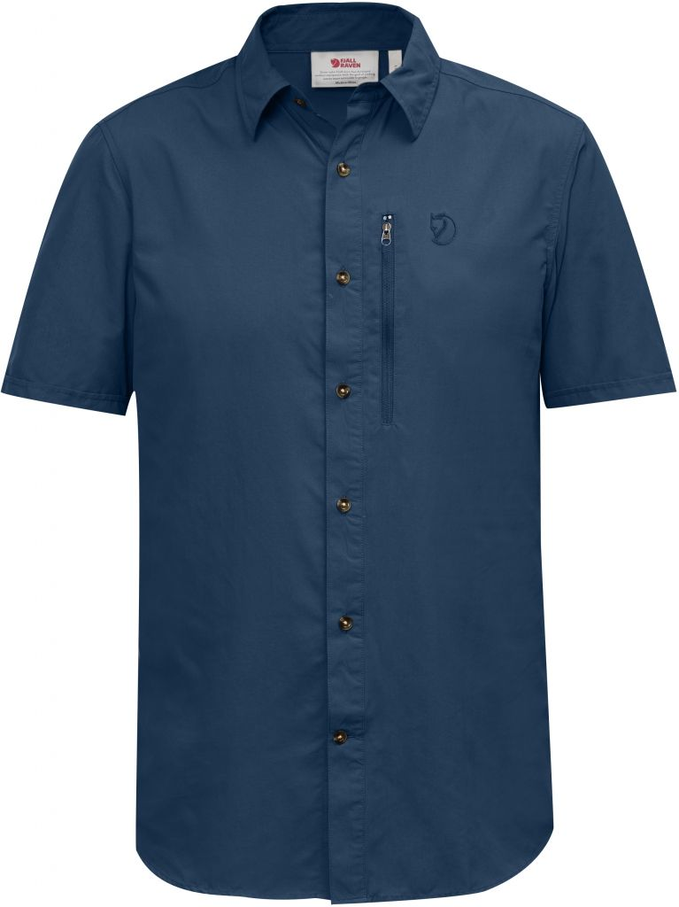 FjallRaven Abisko Hike Shirt SS W Uncle Blue-30