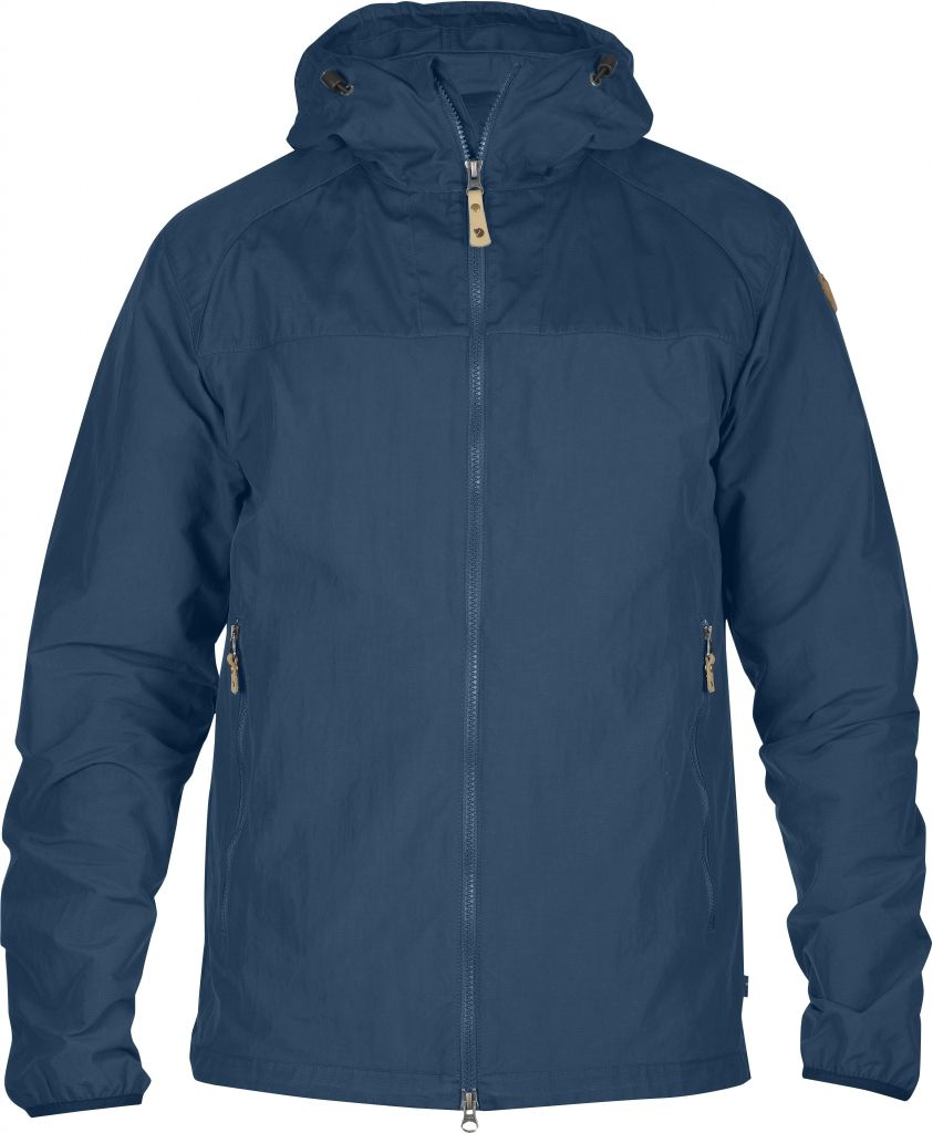 FjallRaven Abisko Hybrid Jacket Uncle Blue-30