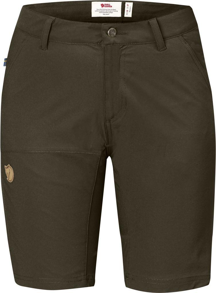 FjallRaven Abisko Lite Shorts W Dark Olive-30