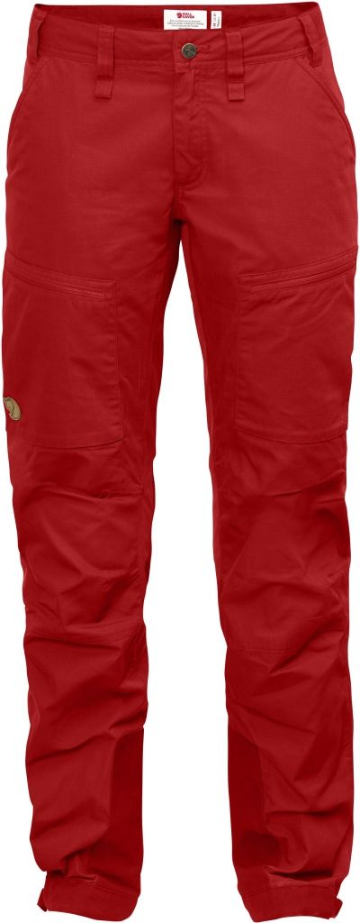 FjallRaven Abisko Lite Trekking Trousers W Red-30