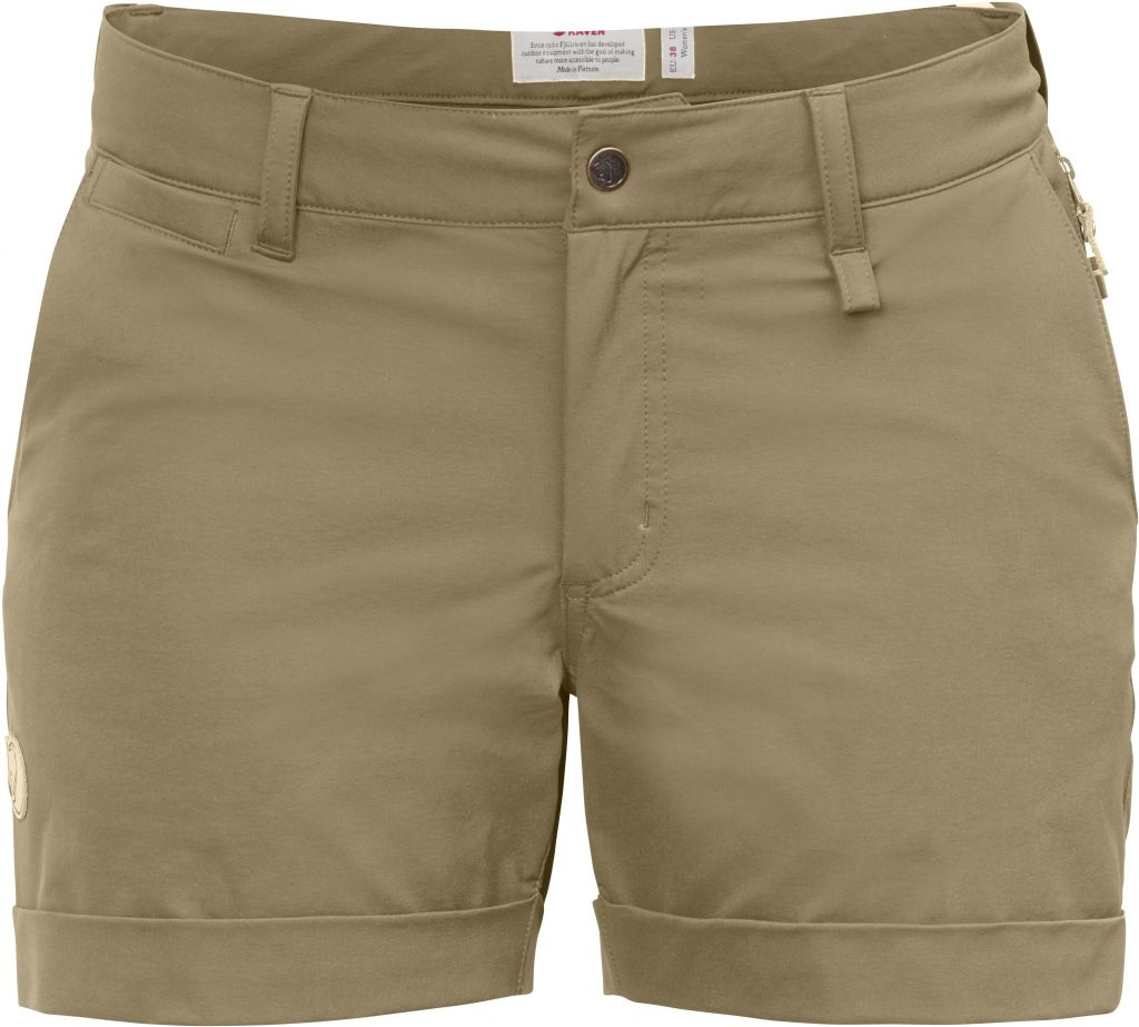 FjallRaven Abisko Stretch Shorts W Sand-30