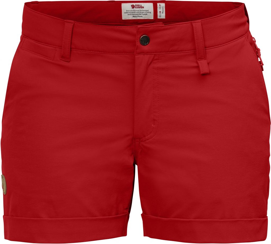FjallRaven Abisko Stretch Shorts W Red-30