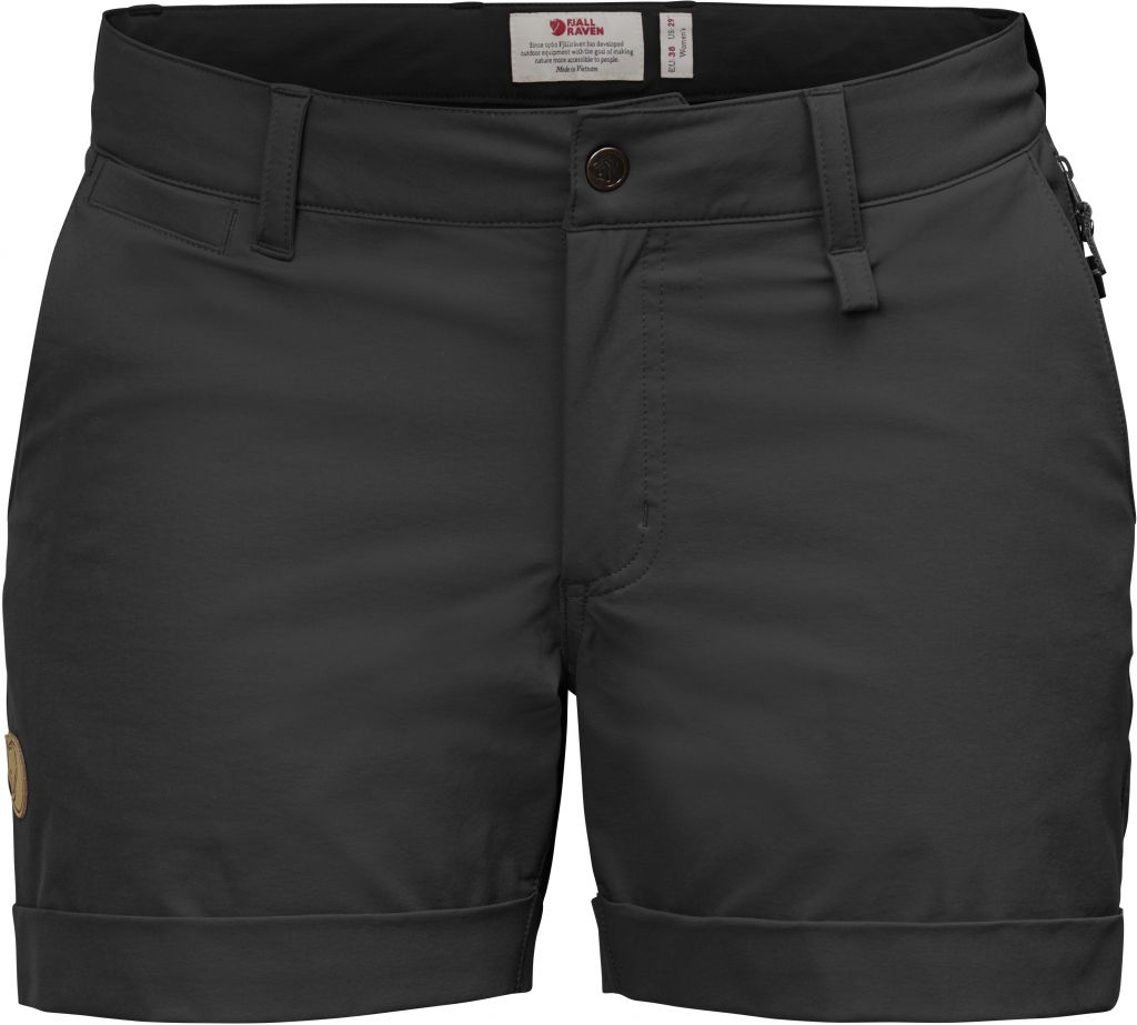 FjallRaven Abisko Stretch Shorts W Black-30