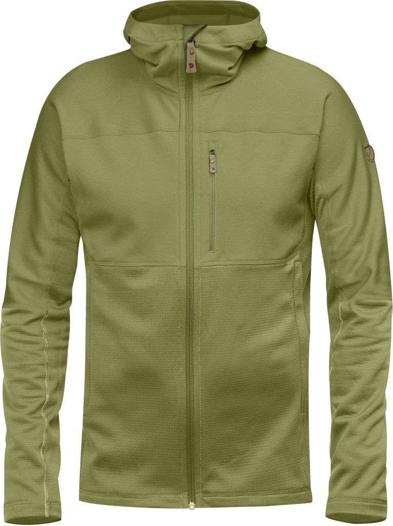 FjallRaven Abisko Trail Fleece Meadow Green-30