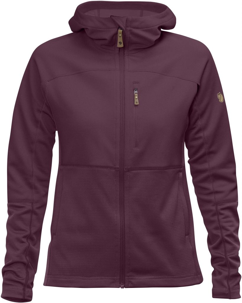 FjallRaven Abisko Trail Fleece W Plum-30