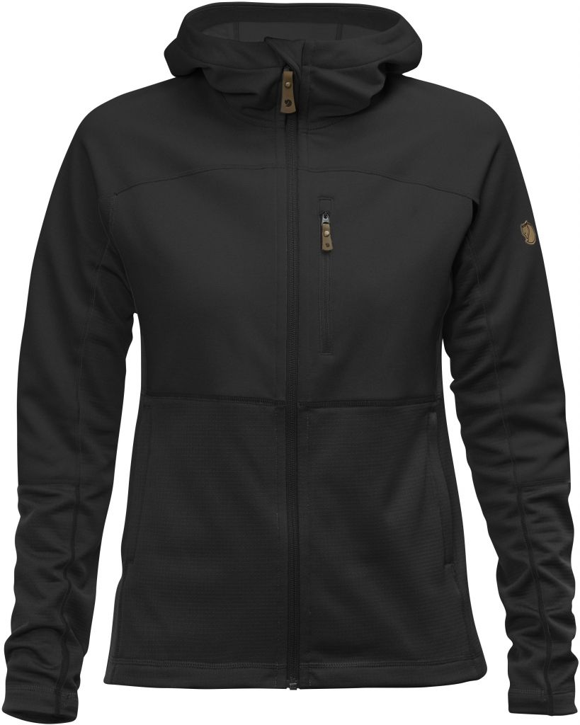 FjallRaven Abisko Trail Fleece W Black-30