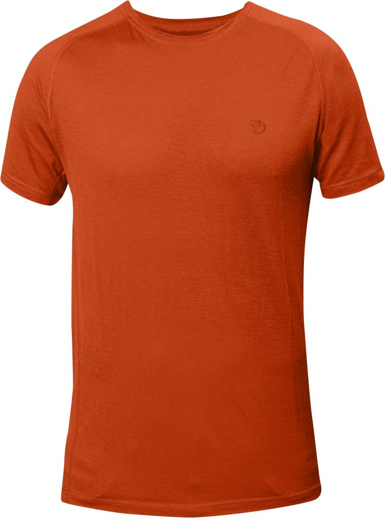 FjallRaven Abisko Trail T-shirt Flame Orange-30