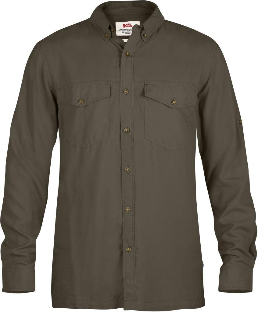 FjallRaven Abisko Vent Shirt LS Tarmac-30