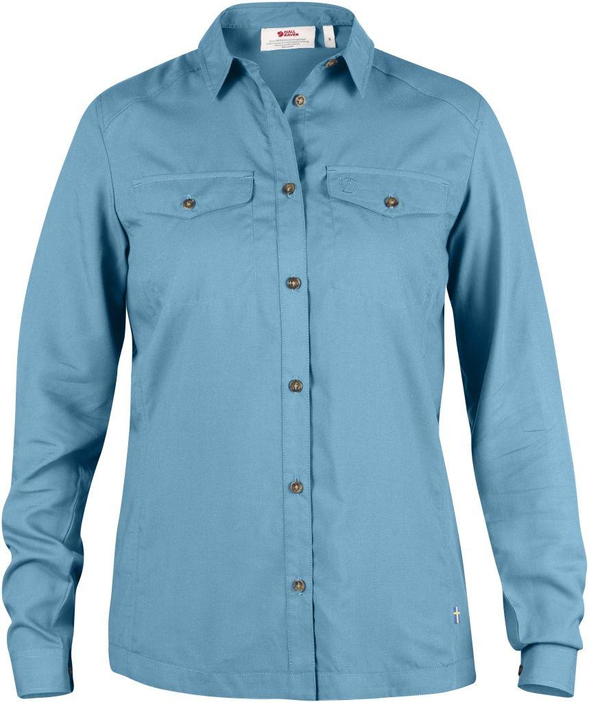 FjallRaven Abisko Vent Shirt LS W. Bluebird-30