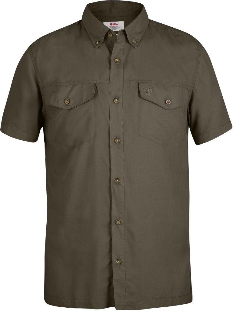 FjallRaven Abisko Vent Shirt SS Tarmac-30