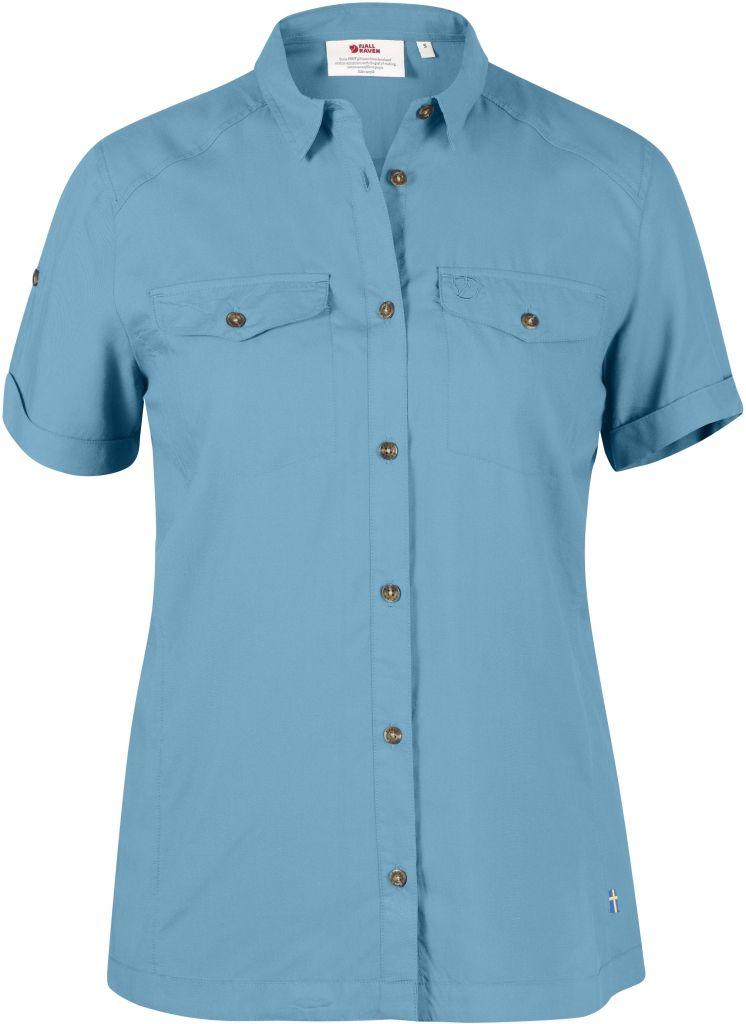 FjallRaven Abisko Vent Shirt SS W. Bluebird-30