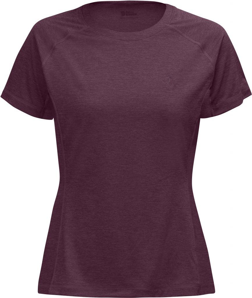 FjallRaven Abisko Vent T-Shirt W Plum-30