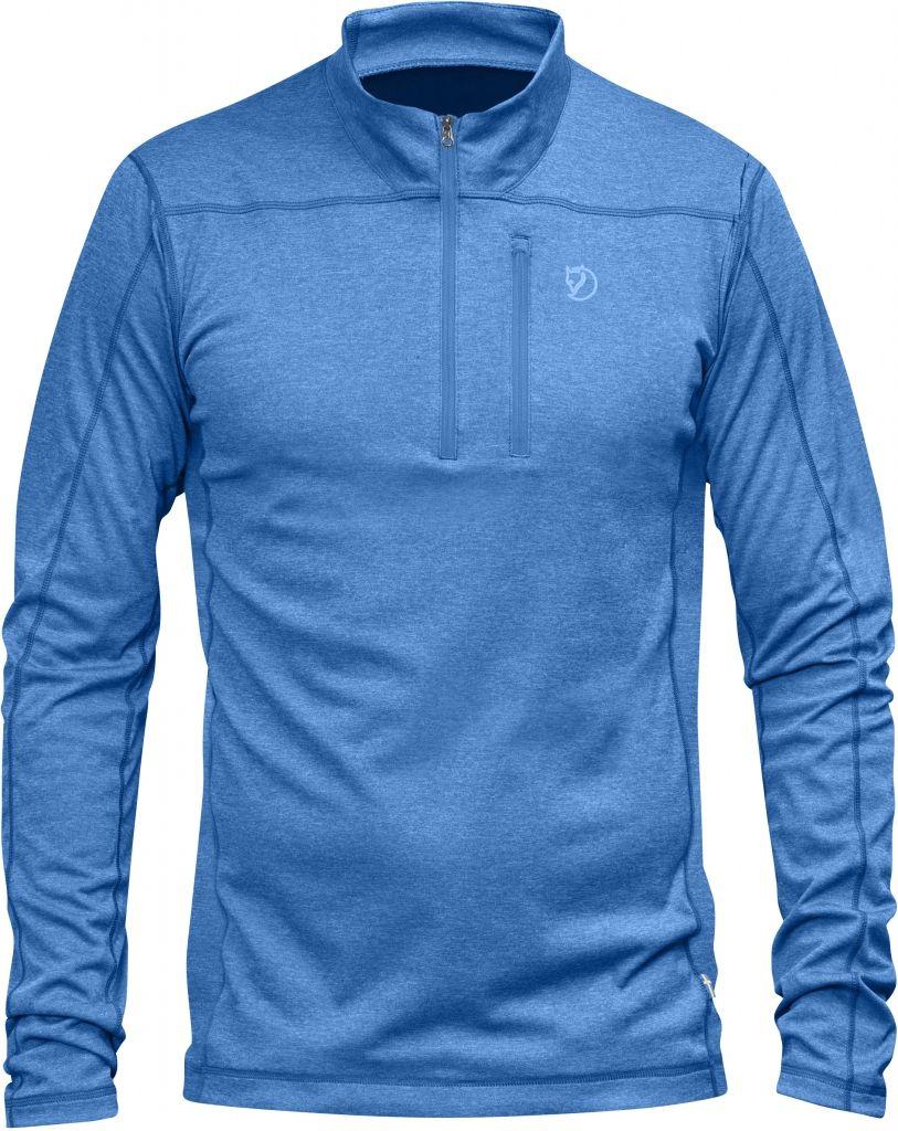 FjallRaven Abisko Vent Zip T-Shirt LS UN Blue-30
