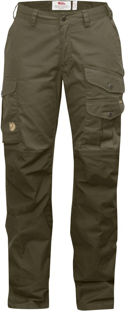 FjallRaven Barents Pro Trousers Curved W Dark Olive-30