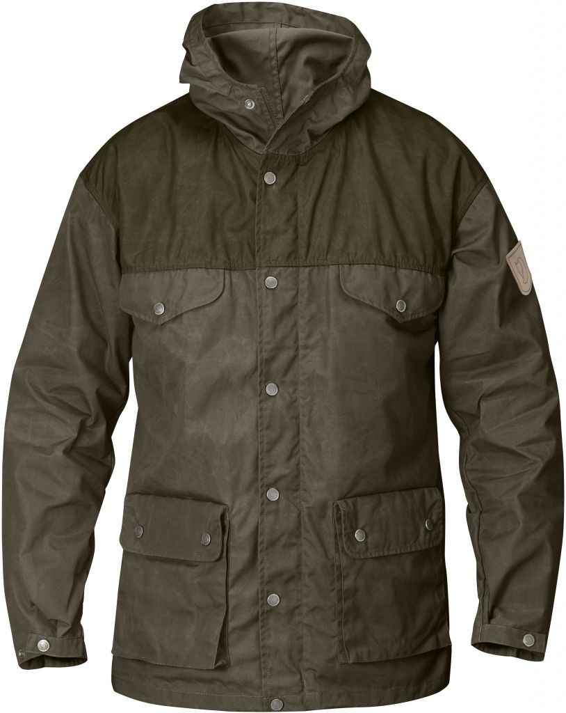 FjallRaven Greenland Jacket Tarmac-Dk Olive-30