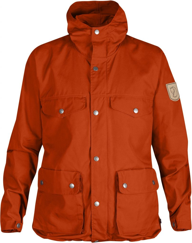 FjallRaven Greenland Jacket W. Flame Orange-30