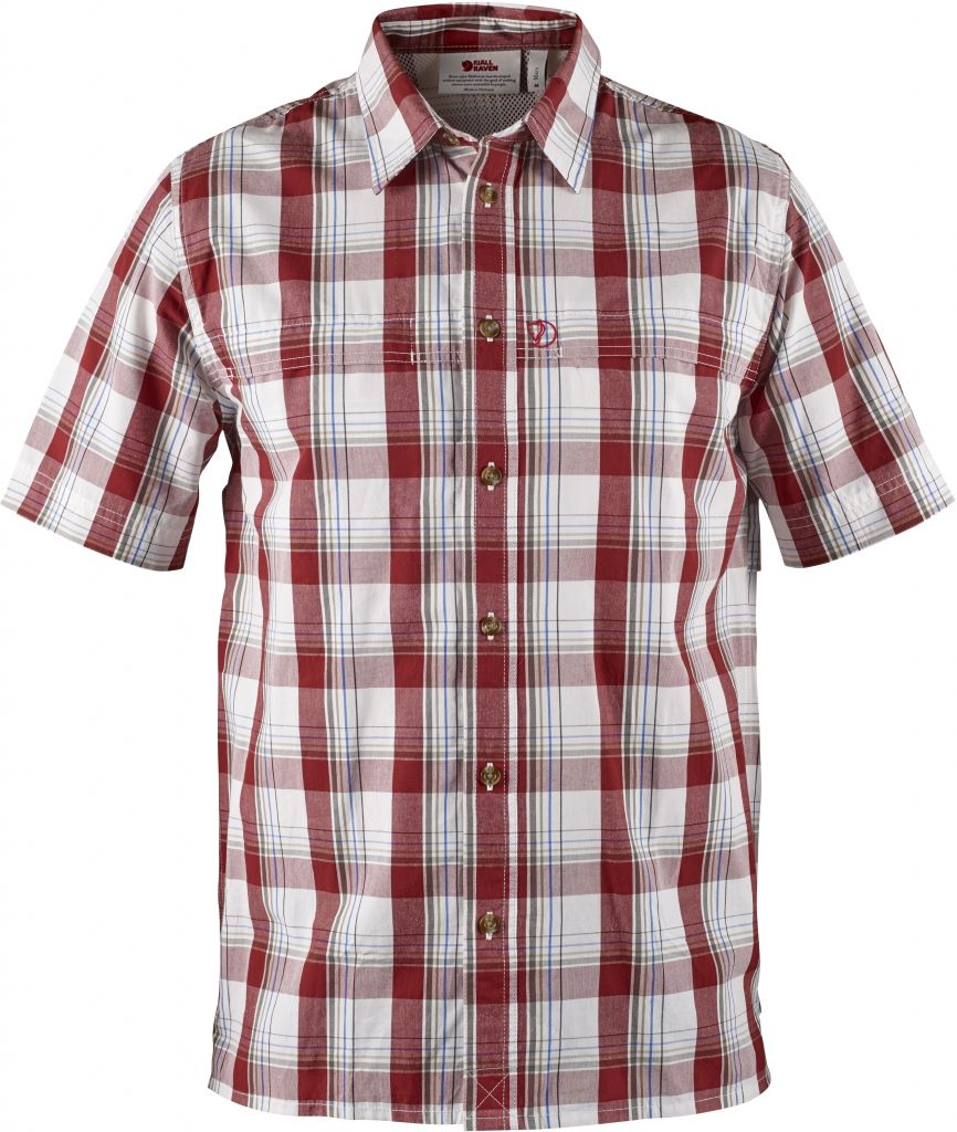 FjallRaven Gunnar Shirt Deep Red-30