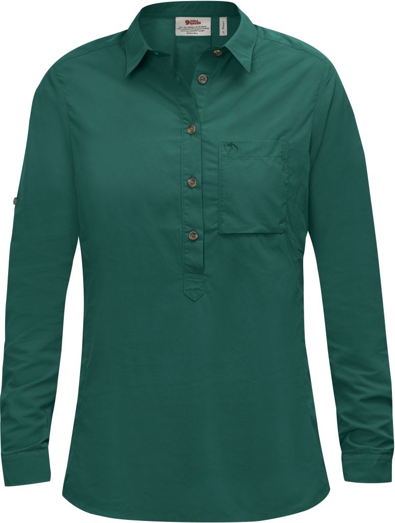 FjallRaven High Coast Shirt LS W Copper Green-30