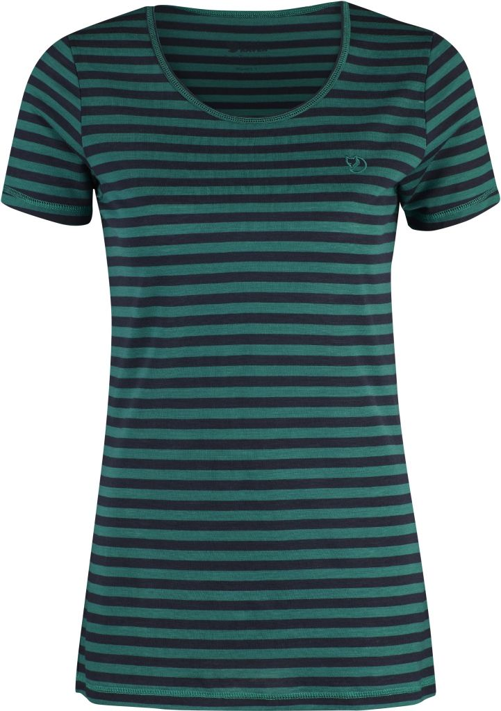 FjallRaven High Coast Stripe T-Shirt W Copper Green-30