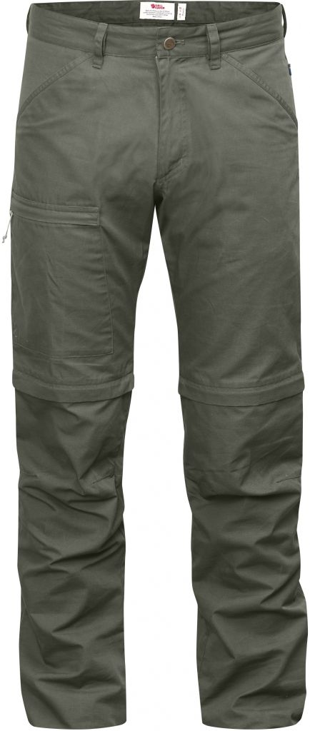 FjallRaven High Coast Trousers Zip-Off Mountain Grey-30
